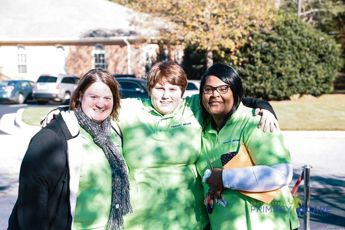 Three Southeastern Primary Care Employees